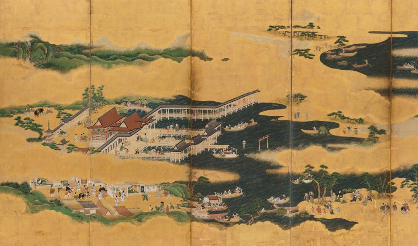 Paths of Gold: Japanese Landscape and Narrative Paintings ...